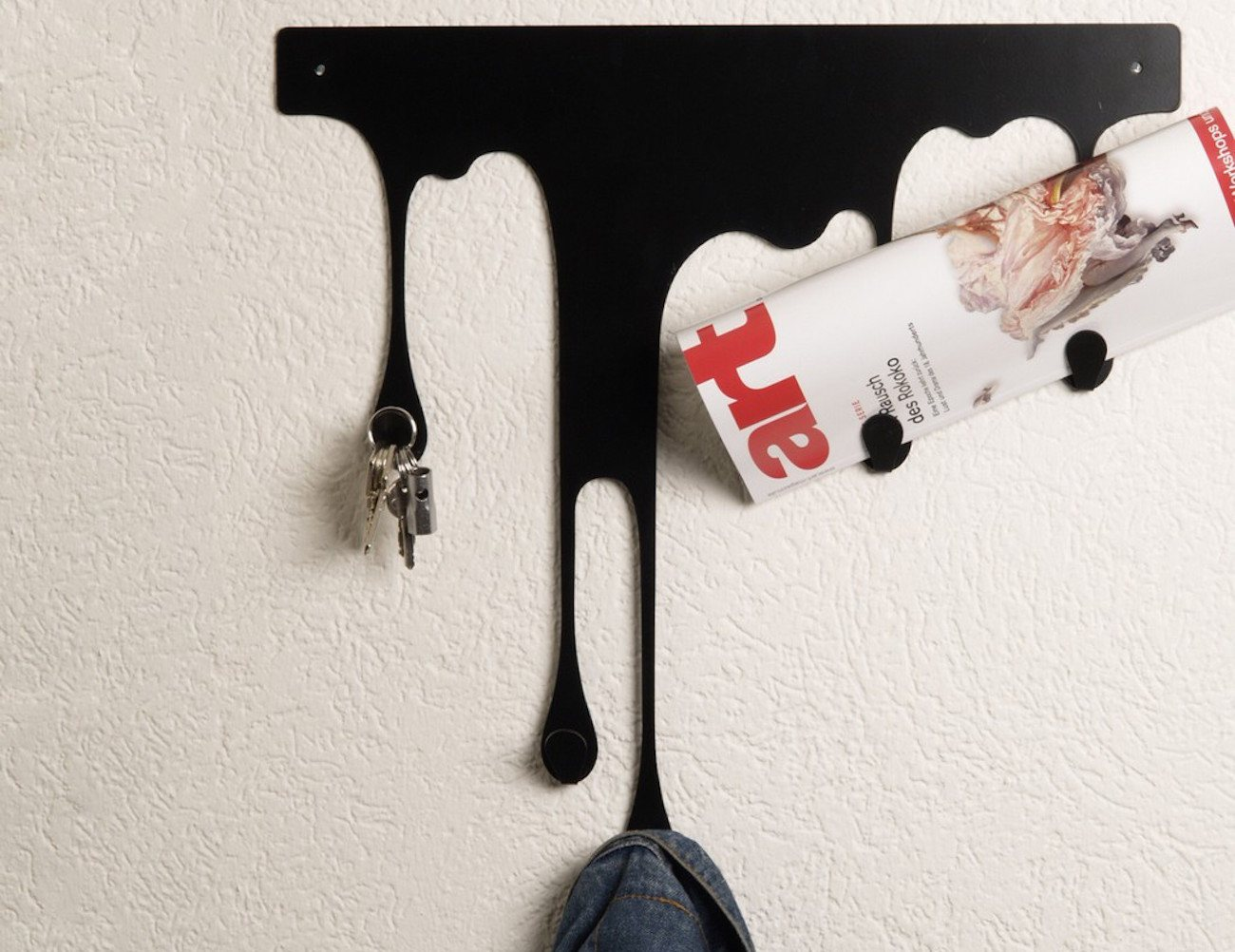 Drop L Coat Rack – Self Adhesive Wall Hook