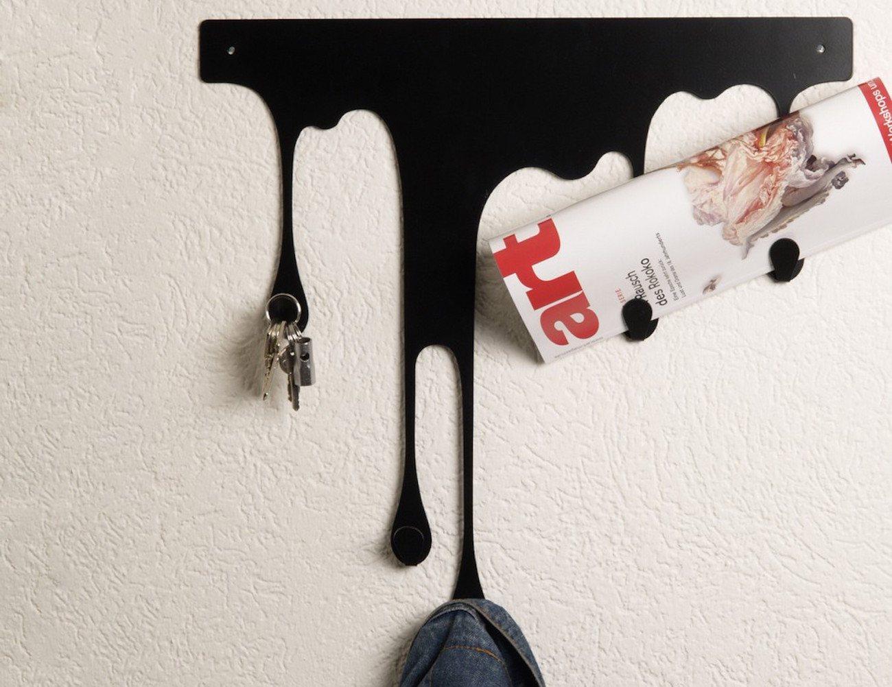 Drop L Coat Rack – Self Adhesive Wall Hook