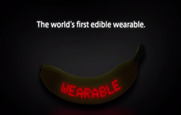 Dole: The First Edible Wearable Banana Is Here, Because Why Not
