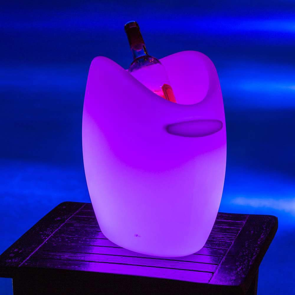 Fresh! LED Wine Cooler