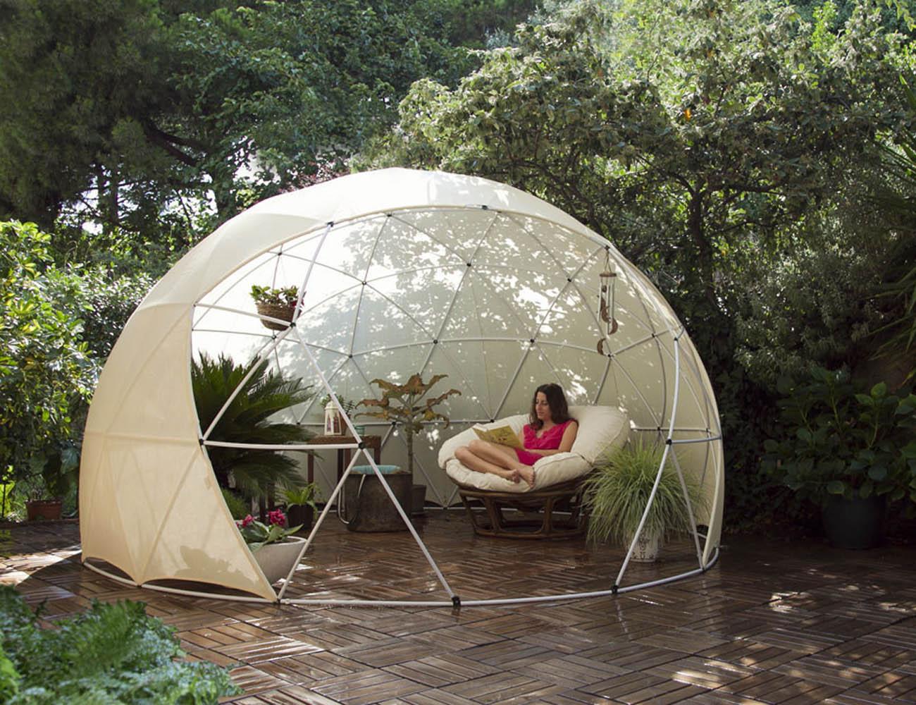 Garden Igloo – Outdoor Living Space For Your Garden