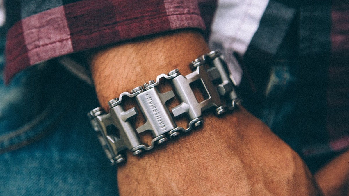 Leatherman Tread Wearable Multi-Tool has 29 useful tools