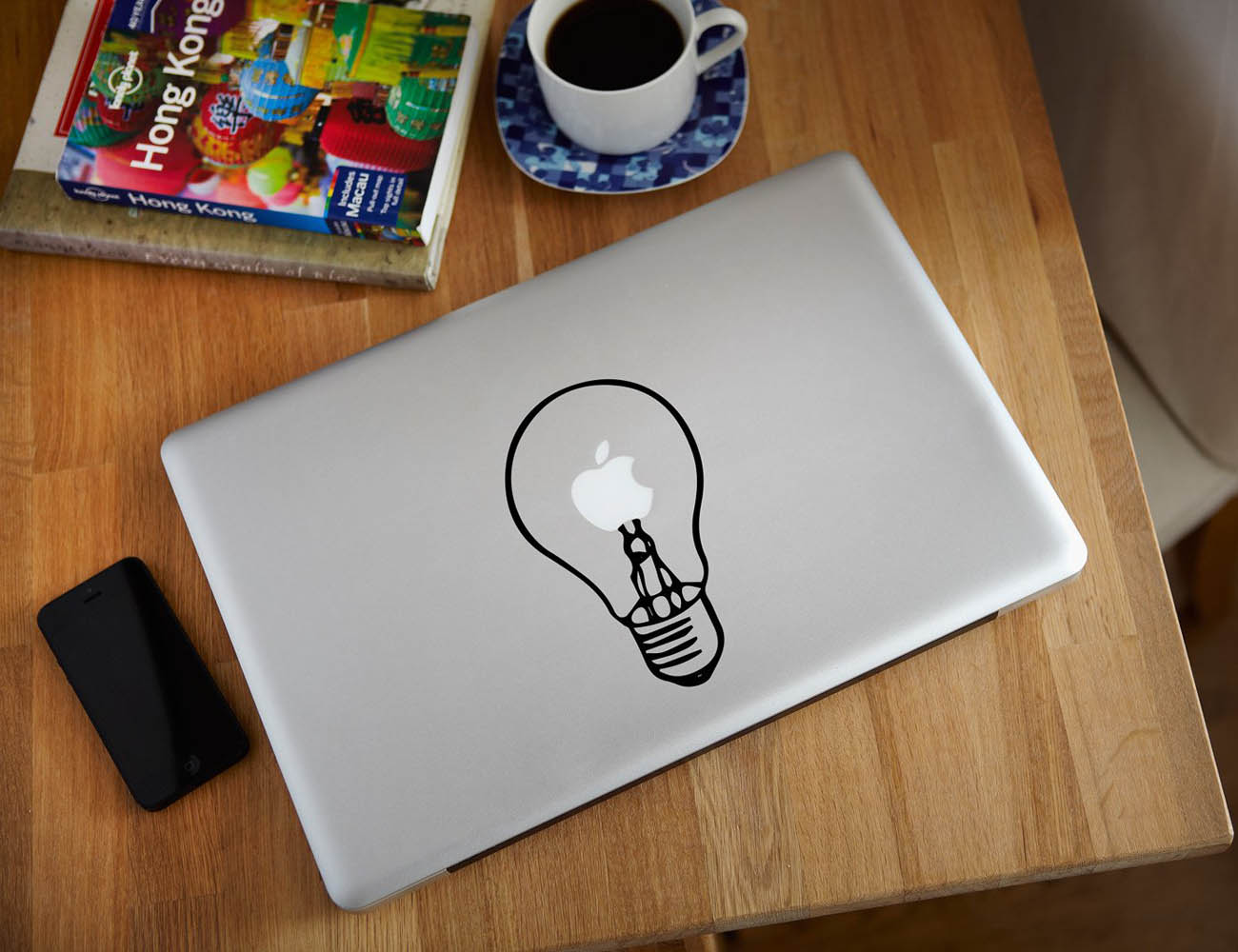 Light Bulb MacBook Decal