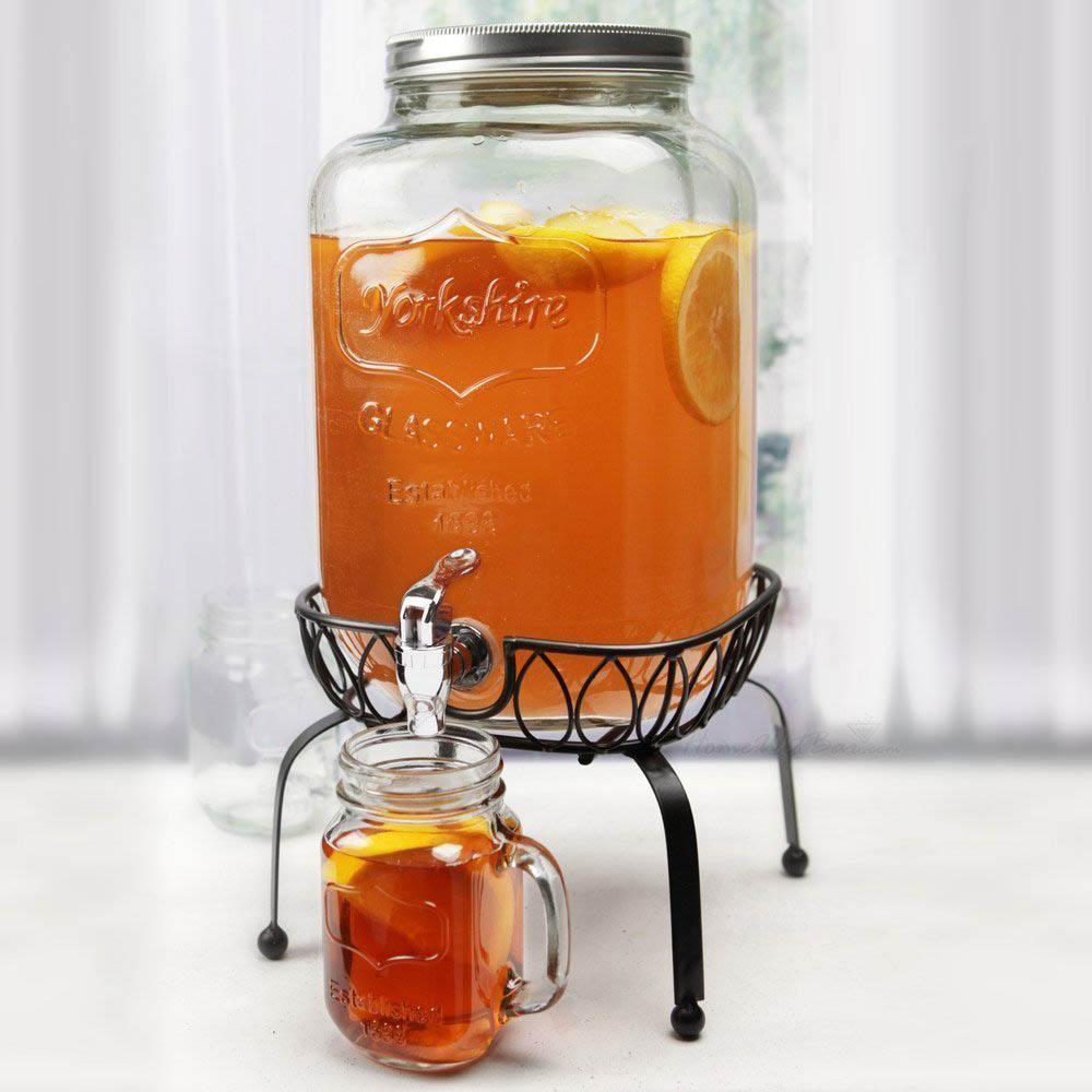 Mason Jar Drink Dispenser 187 Gadget Flow
