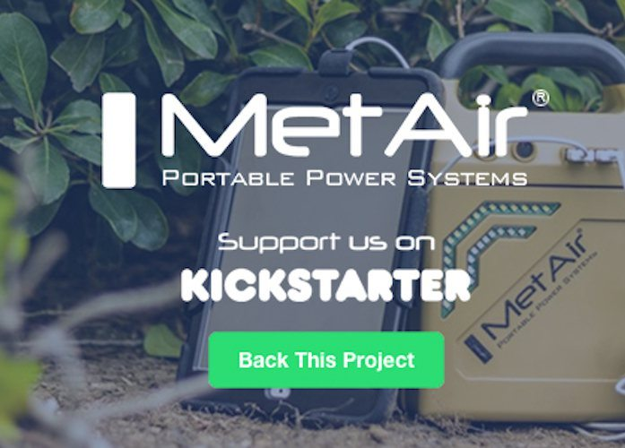 MetAir Solstice: On-Demand Power & Light