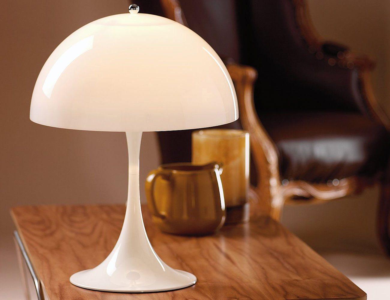 panthella table lamp by louis poulsen gadget flow. Black Bedroom Furniture Sets. Home Design Ideas