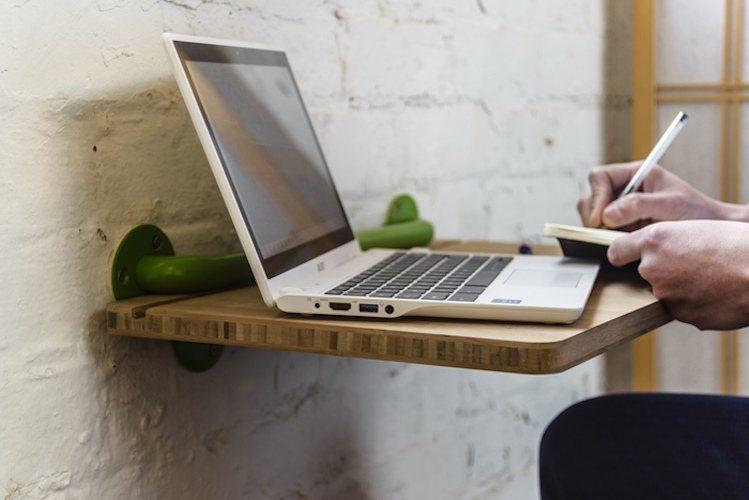 Portable Lap Desk Installation No.1: A Desk And More