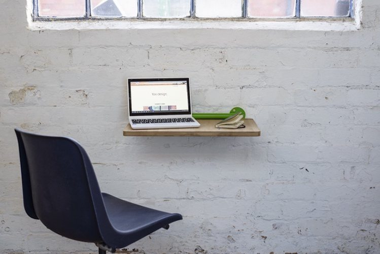 Portable Lap Desk Installation No.1: A Desk And More