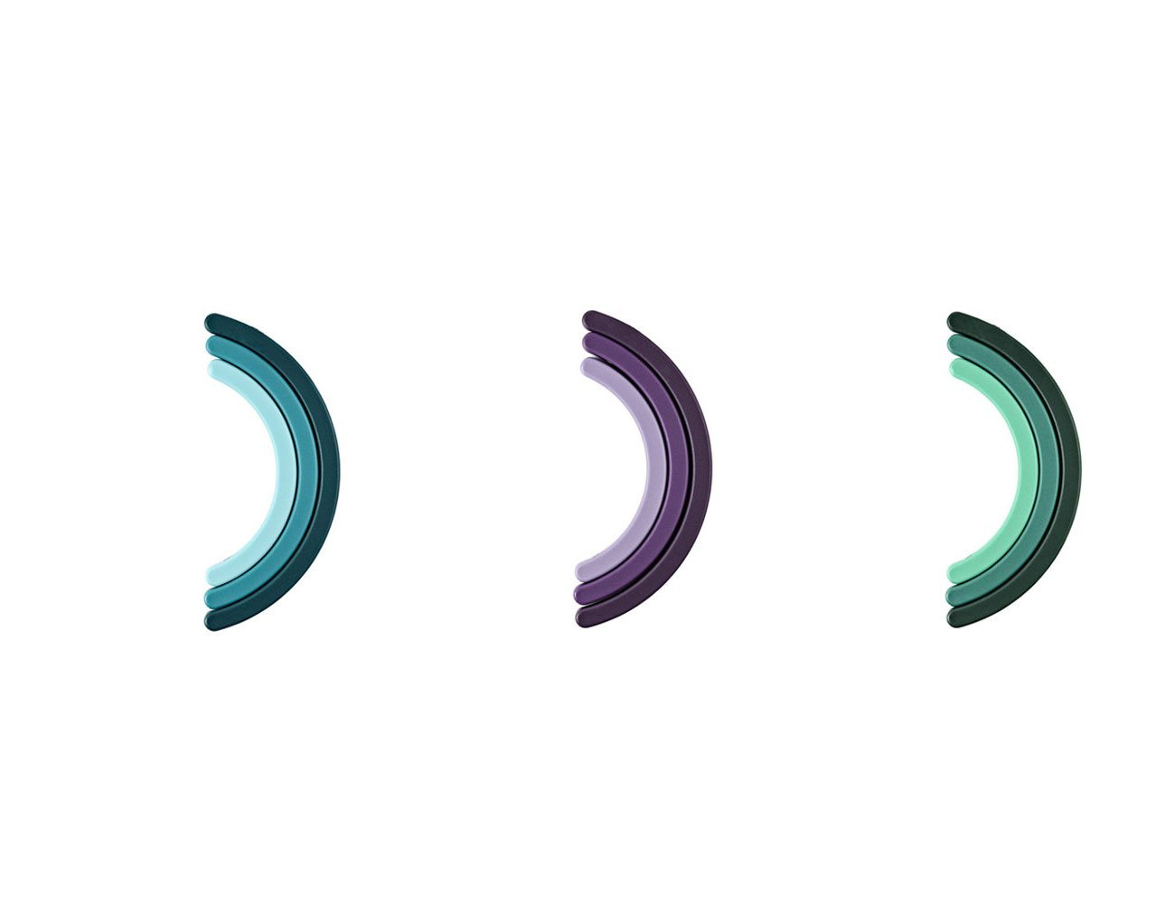 Rainbow Trivet by Normann Copenhagen – With a Foldable Mechanism