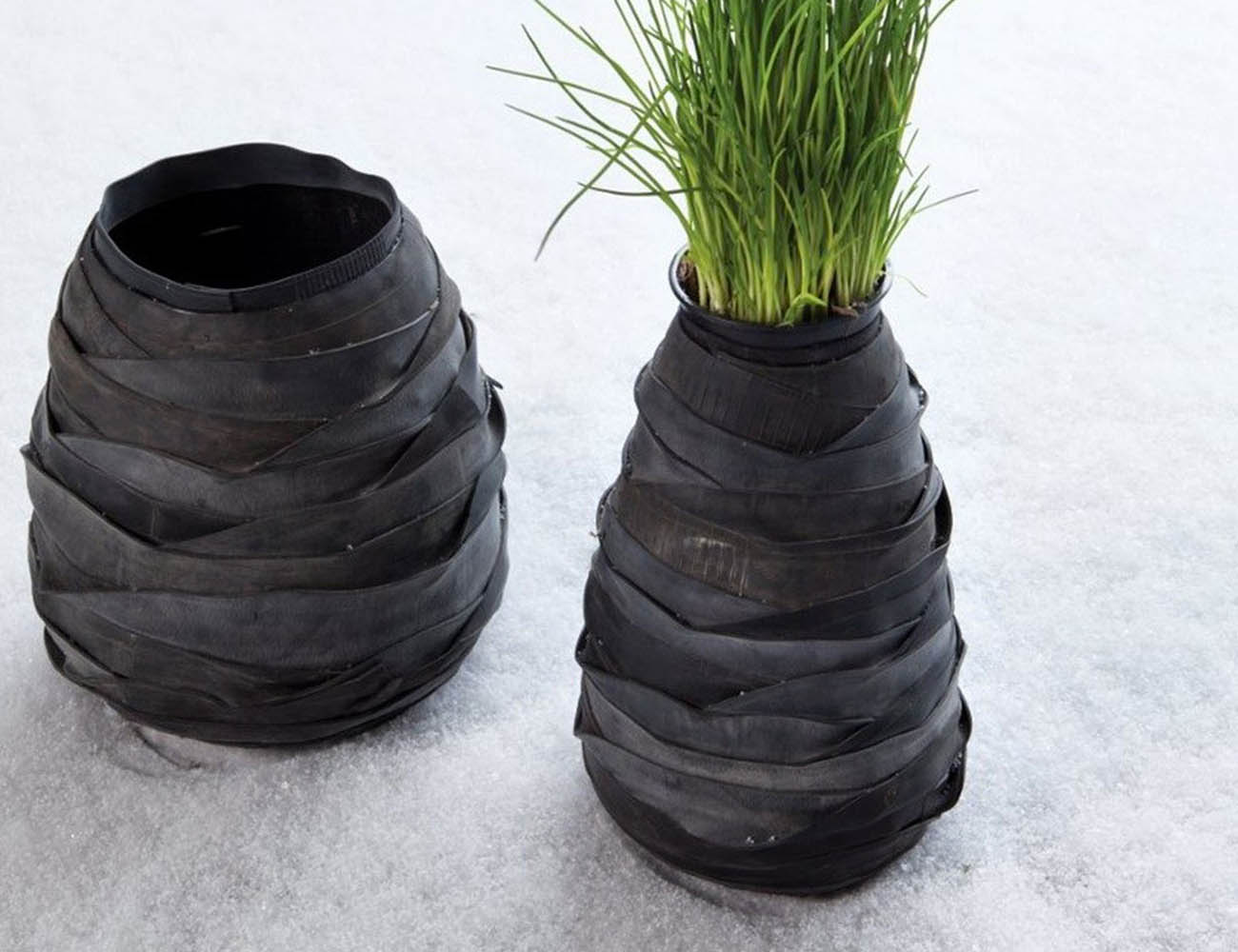 Rubber Ovale Vases by Serax