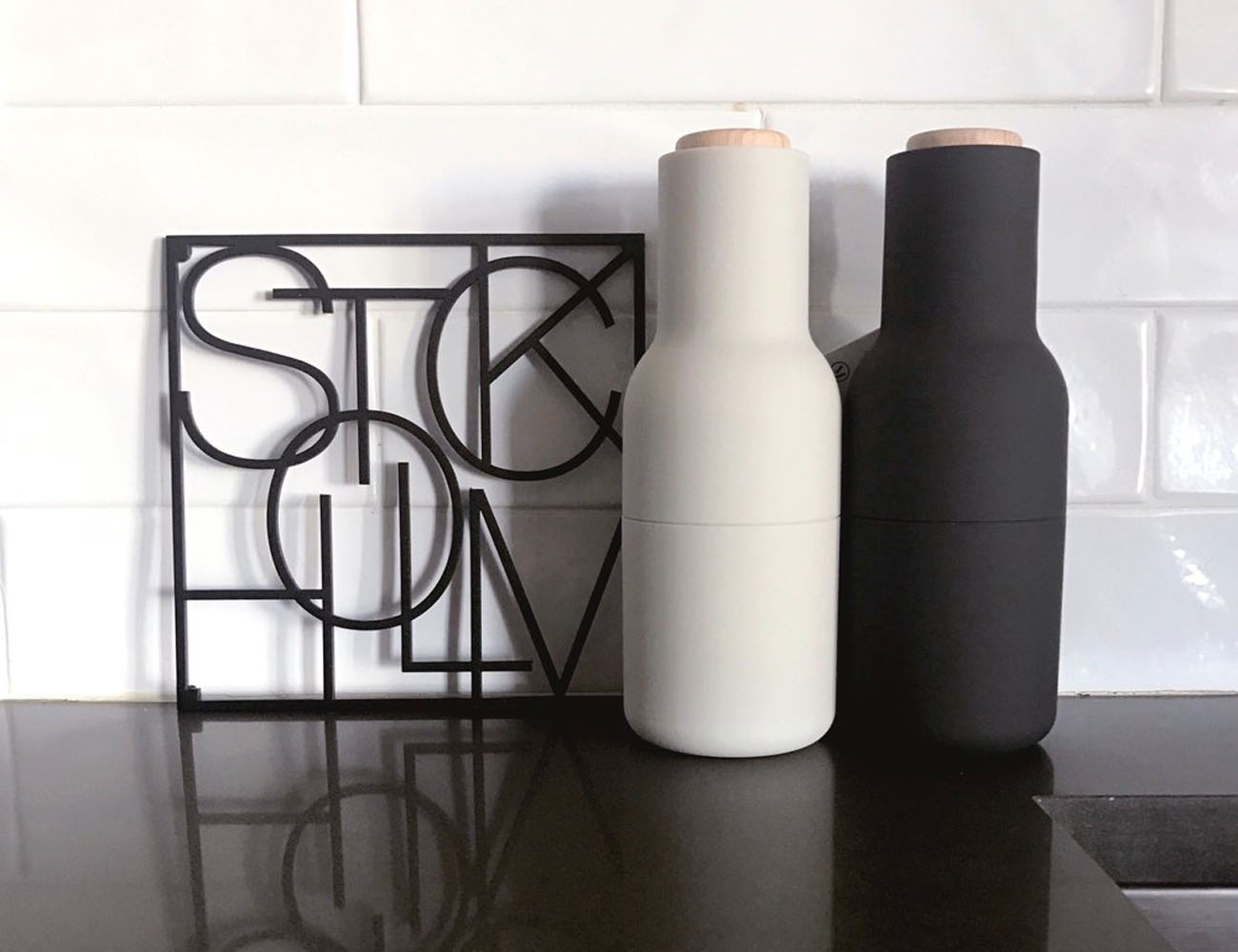Salt & Pepper Bottle Grinder by Norm Architects