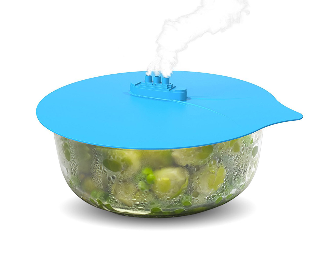 Steam Ship by Fred & Friends – Heavy Duty Silicone Lid