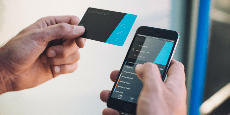 Stratos Card mobile app