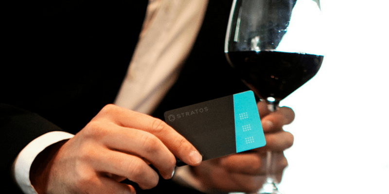 Stratos card digital wallet