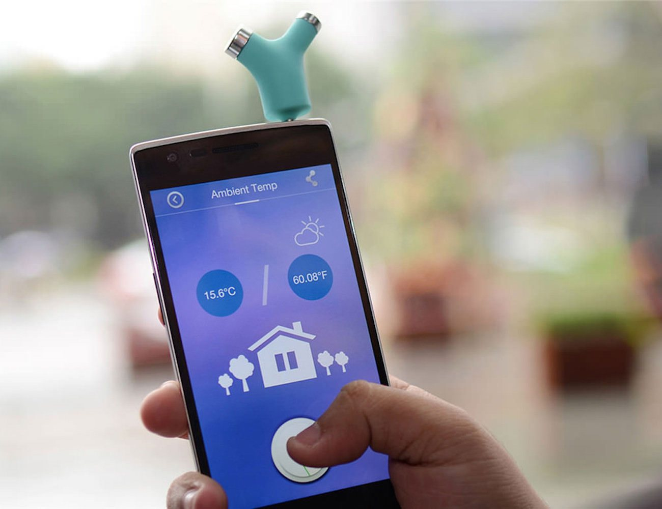 Wishbone: The World's Smallest Smart Thermometer