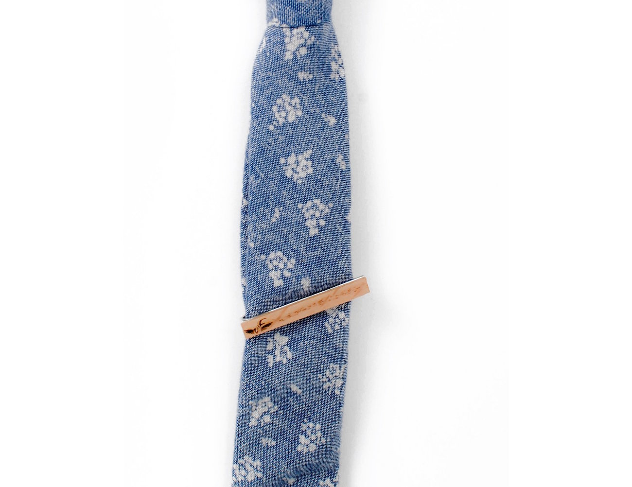Wooden Tie Clip by Johnny Fly