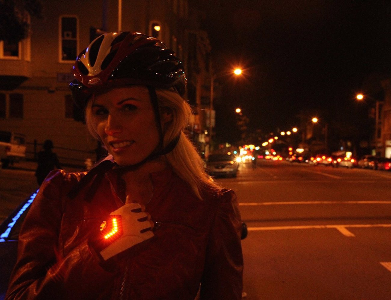 Zackees LED Turn Signal Gloves