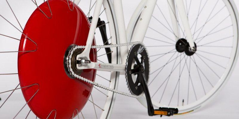 The Copenhagen Wheel smart electric hybrid for your bike