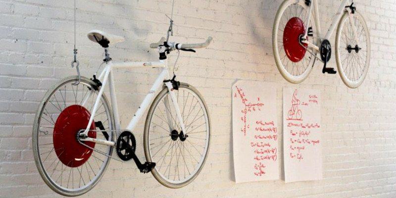 The Copenhagen Wheel bike wheel