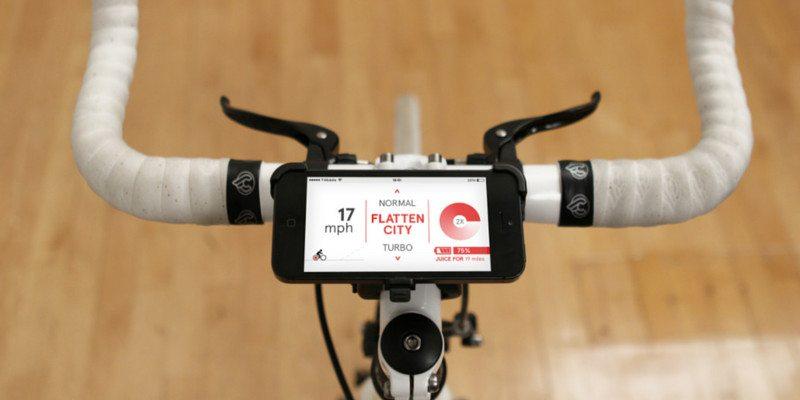 The Copenhagen Wheel by Superpedestrian mobile app