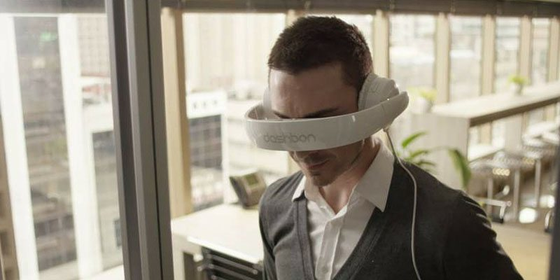 Dashbon Mask virtual reality headphone