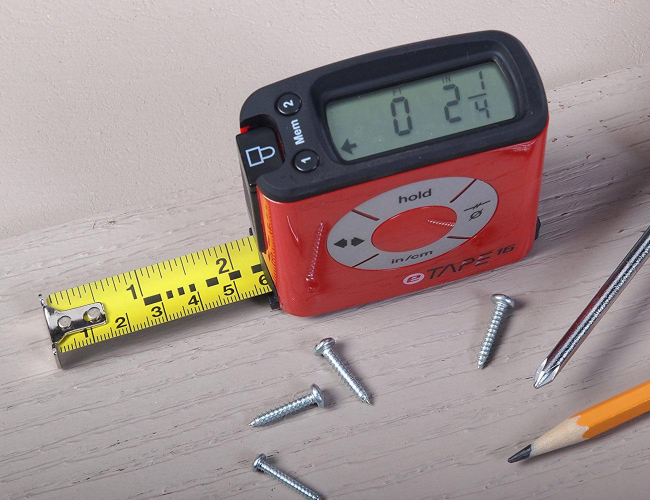 eTape16 Digital Tape Measure