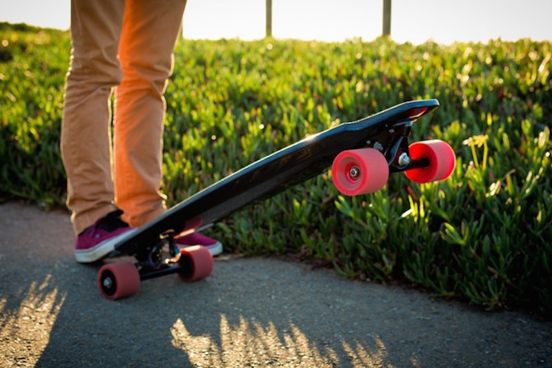 The Monolith Electric Longboard Is Powered by Motors Inside its Wheels