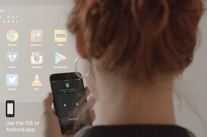 Beam with app