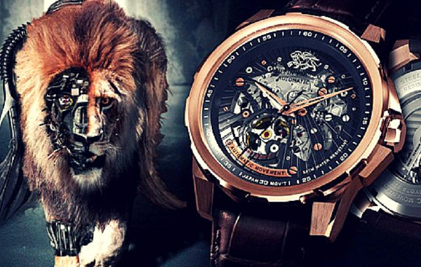 GRIFFIN EMBLEM Automatic Watches Symbolize a Luxurious Treasure For Your Wrists