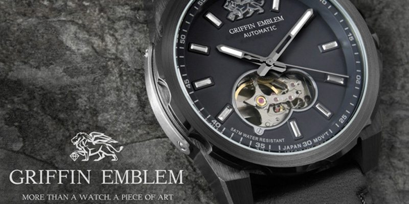 GRIFFIN EMBLEM wristwatches limited edition