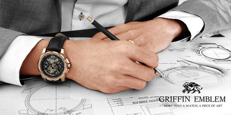 GRIFFIN EMBLEM fancy watch