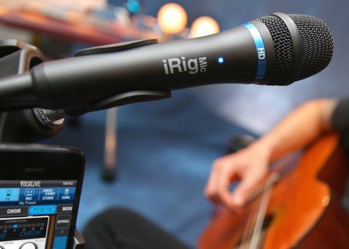 iRig Mic HD for iOS Devices