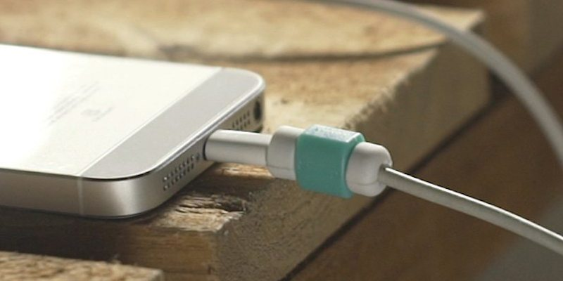 Lightning cable protector