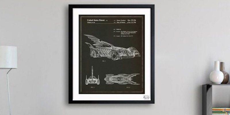 Batmobile 1996 Blueprint