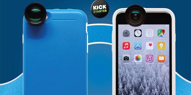 Bridge Optix Case and Lens System for iPhone 6 & 6 Plus