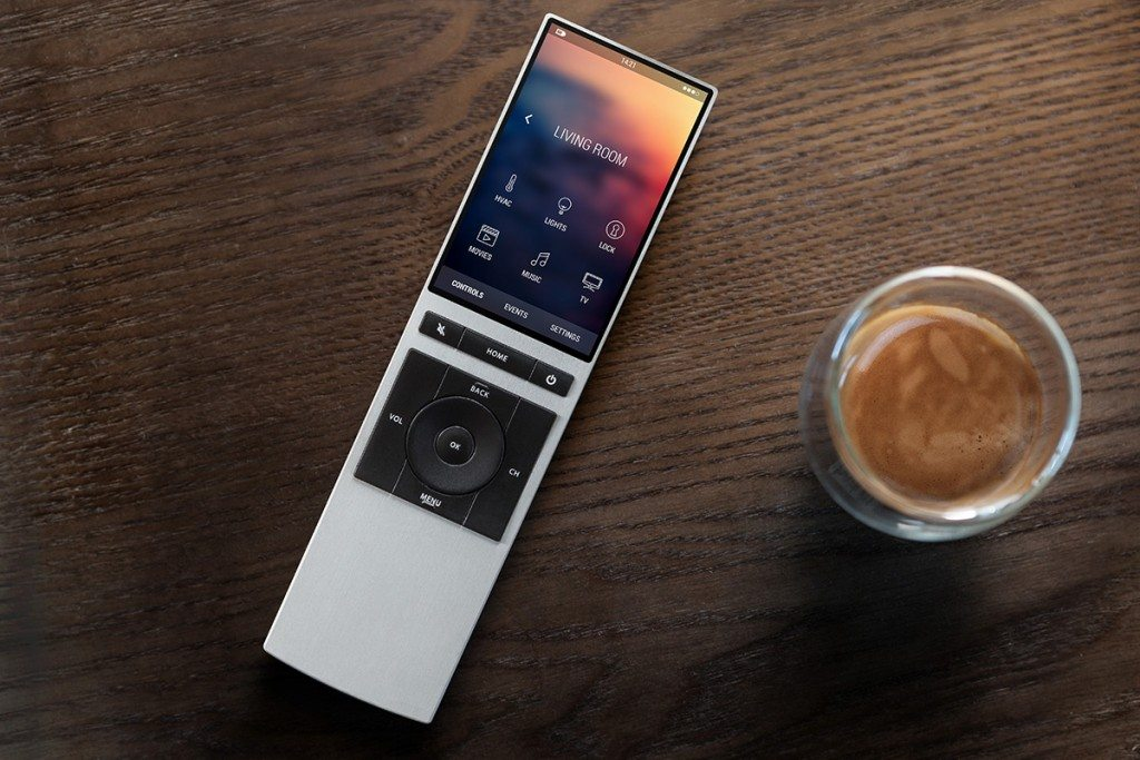 NEEO remote at home
