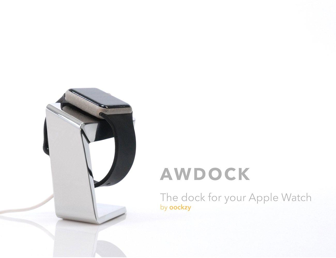 AWDock – Apple Watch Docking Station