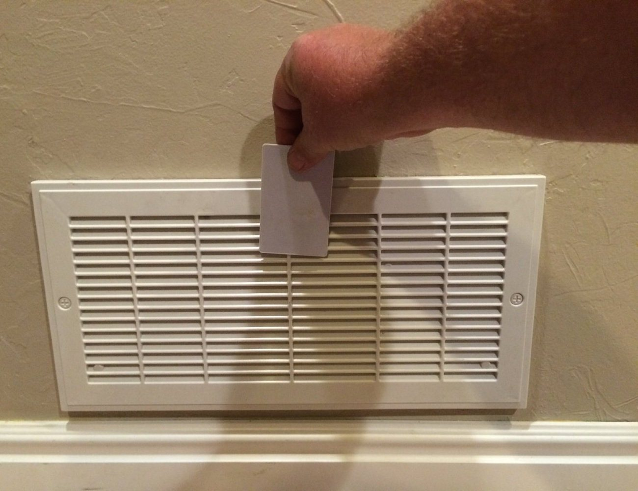 Air Vent Hidden Safe With Rfid Lock