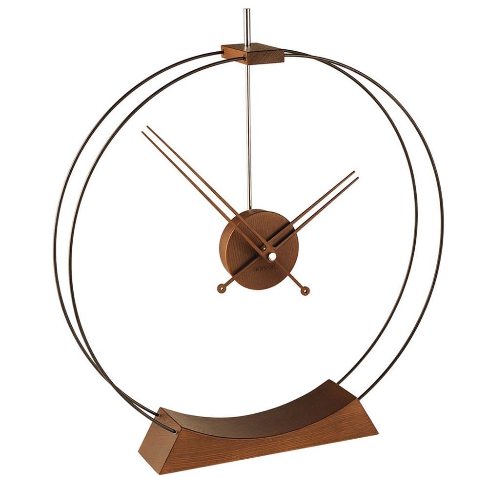 Aire Chrome Clock