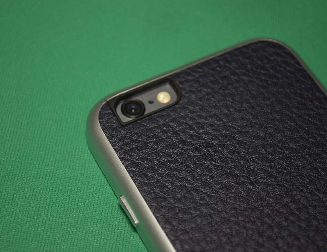 AluFrame Leather iPhone 6 Case loading=