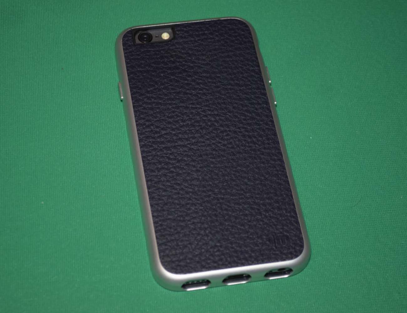 AluFrame Leather iPhone 6 Case