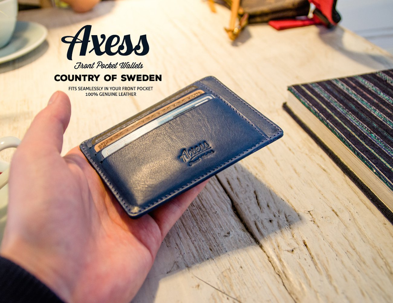 Axess%3A+Front+Pocket+Wallets+In+Italian+Leather