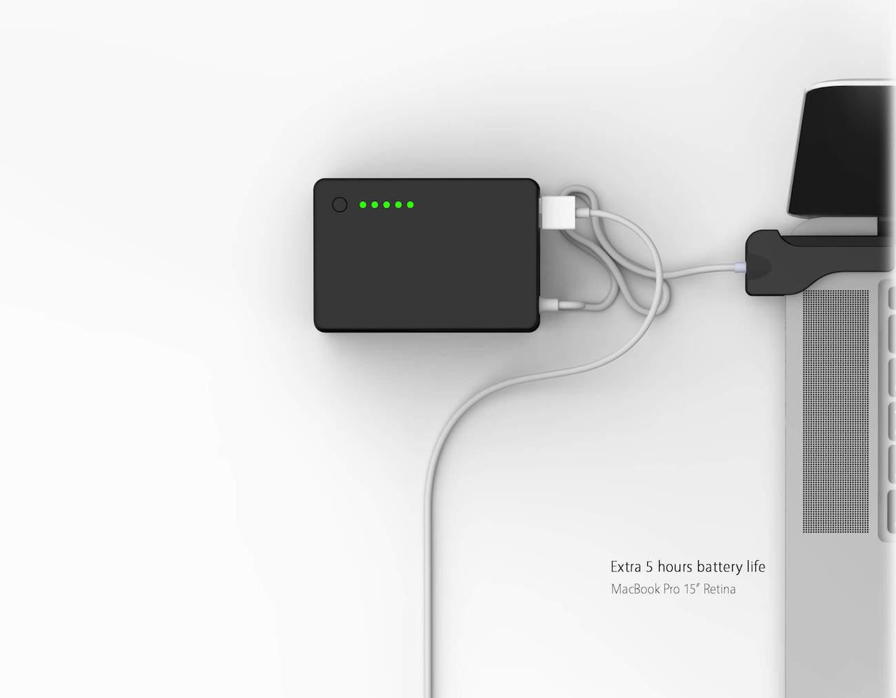 BatteryBox – External Portable MacBook Battery