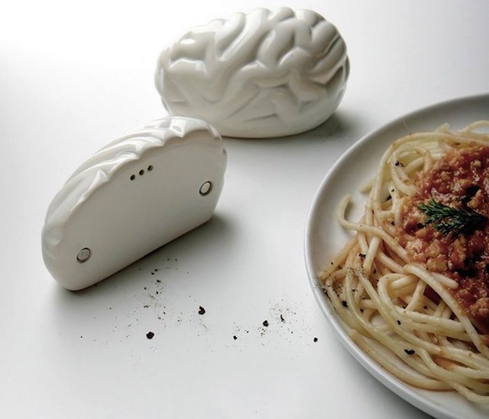 Brain Salt and Pepper Shaker by PROPAGANDA