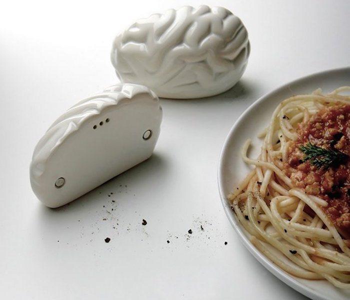 Brain Salt and Pepper Shaker by PROPAGANDA