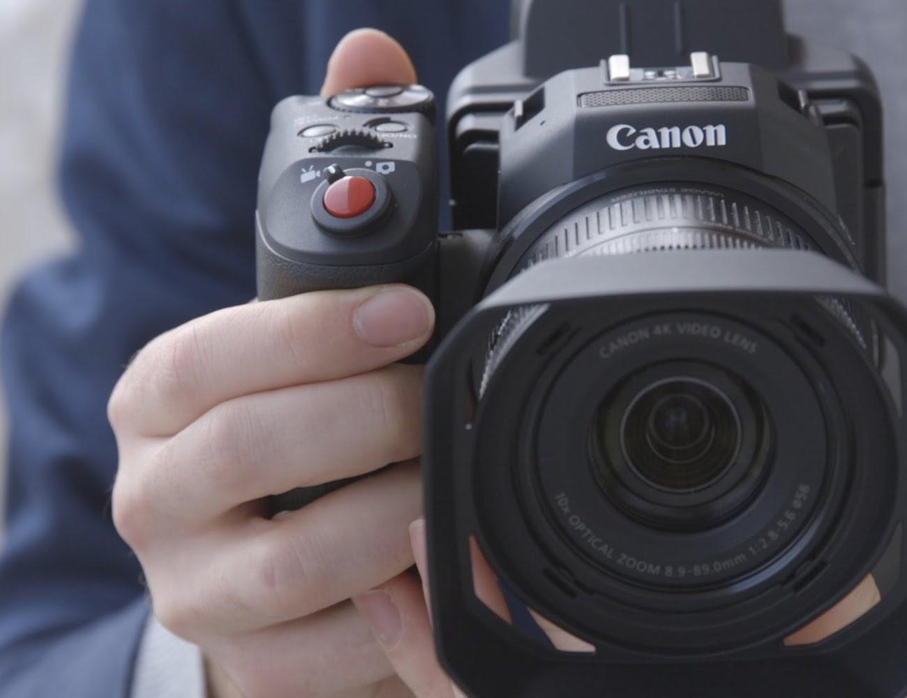 Canon+XC10+4K+Camera