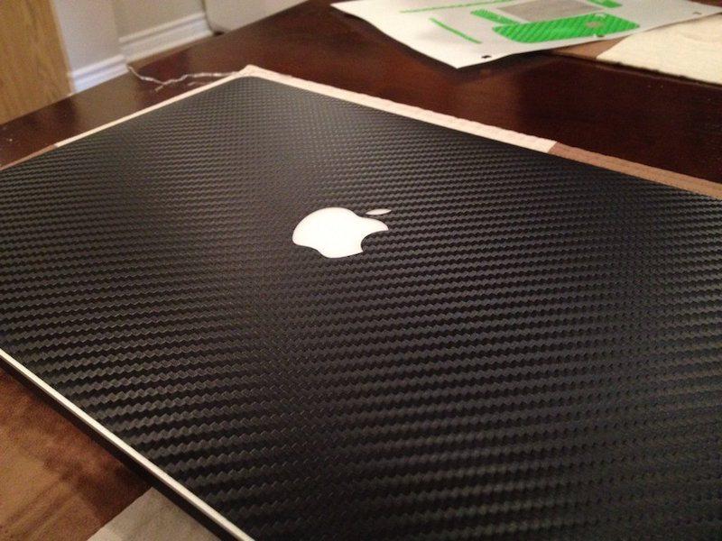 Carbon Fiber Series Skins for Macbook Air 13′ by SlickWraps