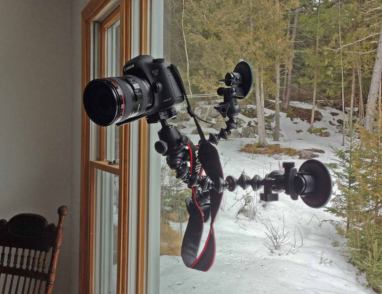 CineSquid Suction Cup Camera Mount