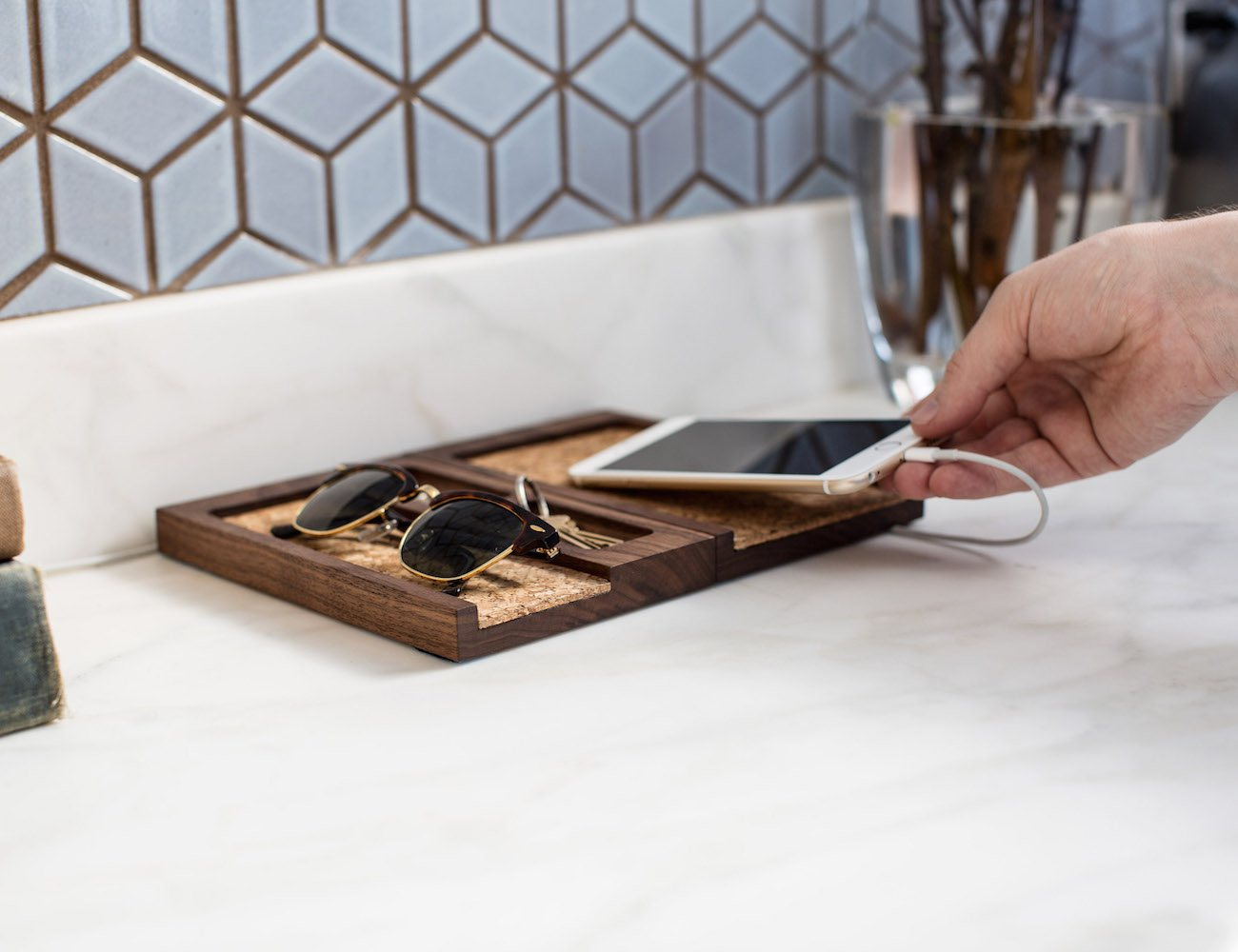 Composure Collection by Rest – Magnetically Connected Desktop Organizer