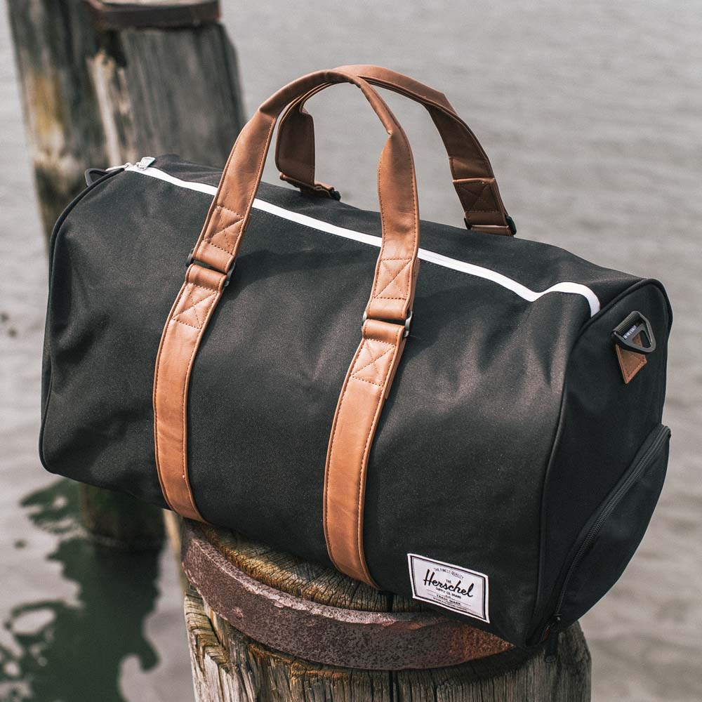 Gym Bag Herschel: Crosshatch Novel Duffel Bag By Herschel Supply Co